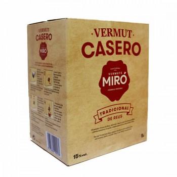 Miró Bag in Box Vermouth 5L