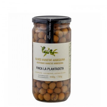 Arbequinas olives Finca...