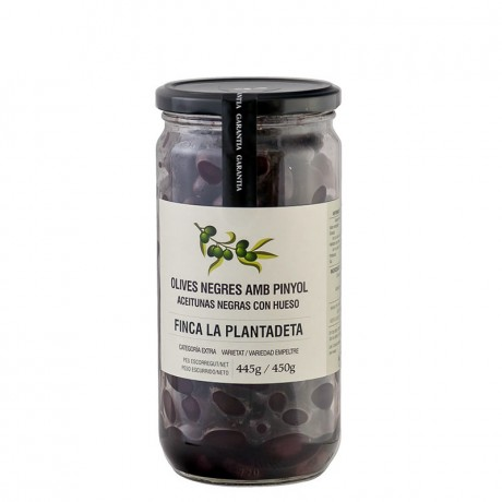 Aceitunas Negras Finca Plantadeta 500gr